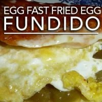 Egg Fast Fried Egg Fundido - Low Carb Keto Fandango!