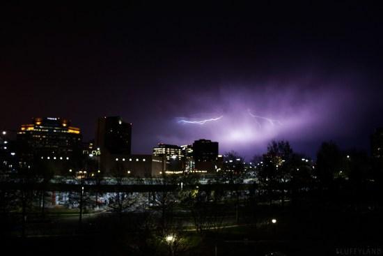 lightning storm photography