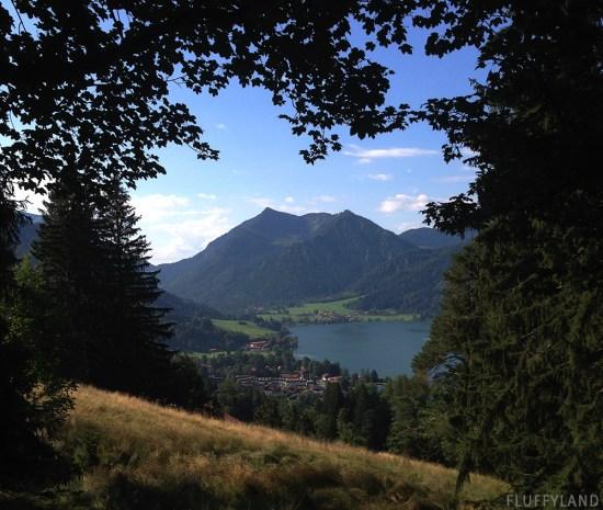 schliersee: a beautiful alpen lake