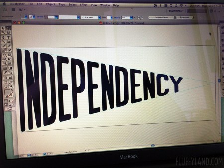 a flag of independency
