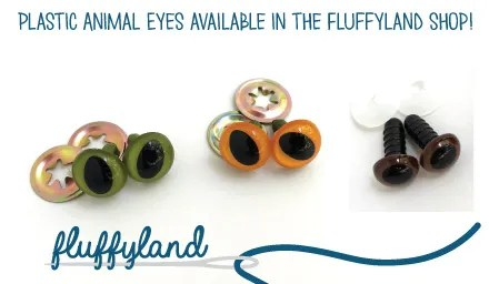 Plastic Stuffed Animal Eyes - Amigurumi Eyes Tutorial on Fluffyland