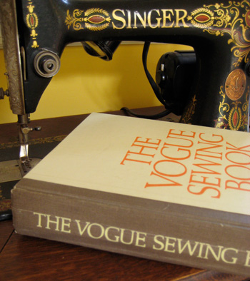 not the sewing machine.. just the book