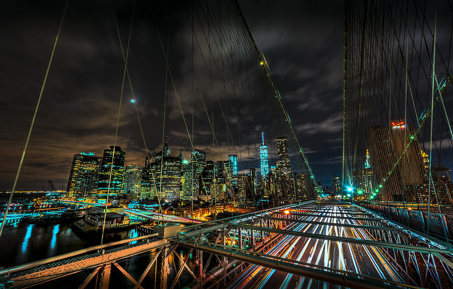 leaving-new-york-city-via-the-brooklyn-bridge-david-morefield