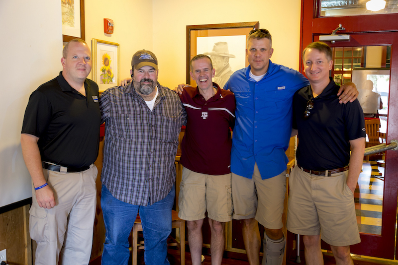 Friends for life gather at Epic Surprise lunch