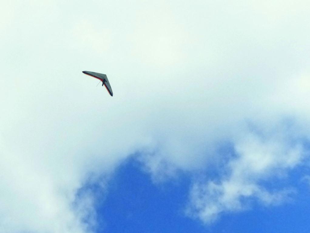 Drachenflieger über Jüteborg
