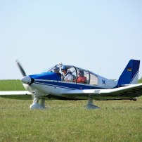 Rundflug Motorflugzeug Remorqueur