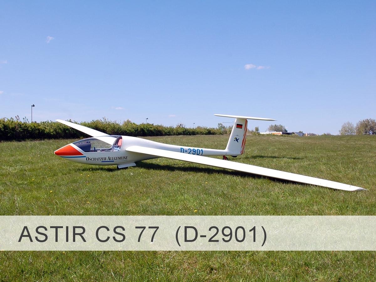 Astir CS 77 D-2901 Template