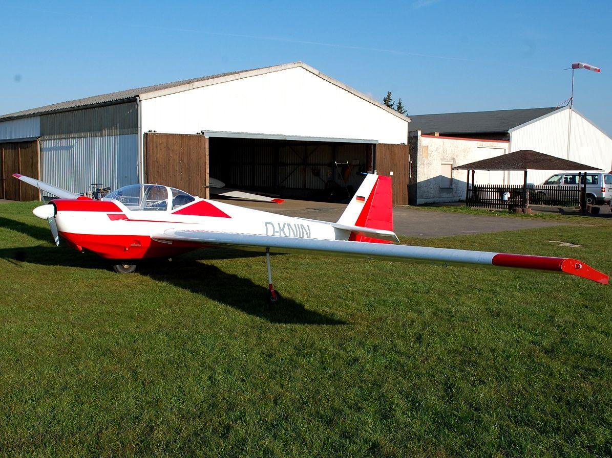 SF-25C Falke D-KNIN Vollansicht