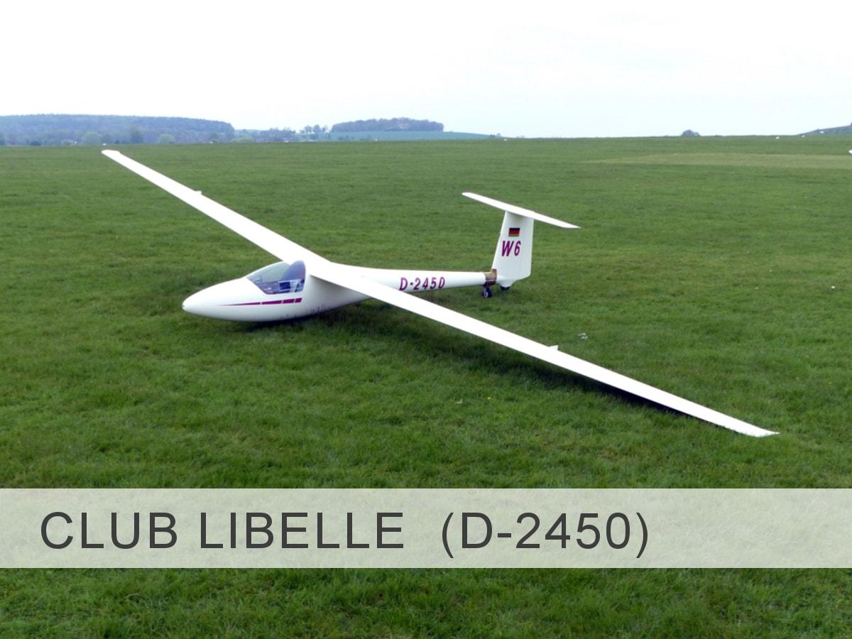 Club Libelle 205 D-2450 Template
