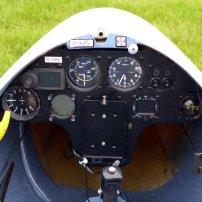 Club Libelle 205 D-2450 Cockpit