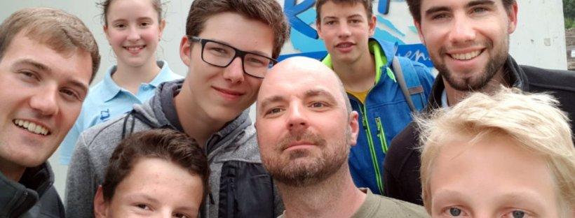 Fliegerclub Oschatz Jugend im Spaßbad Riff