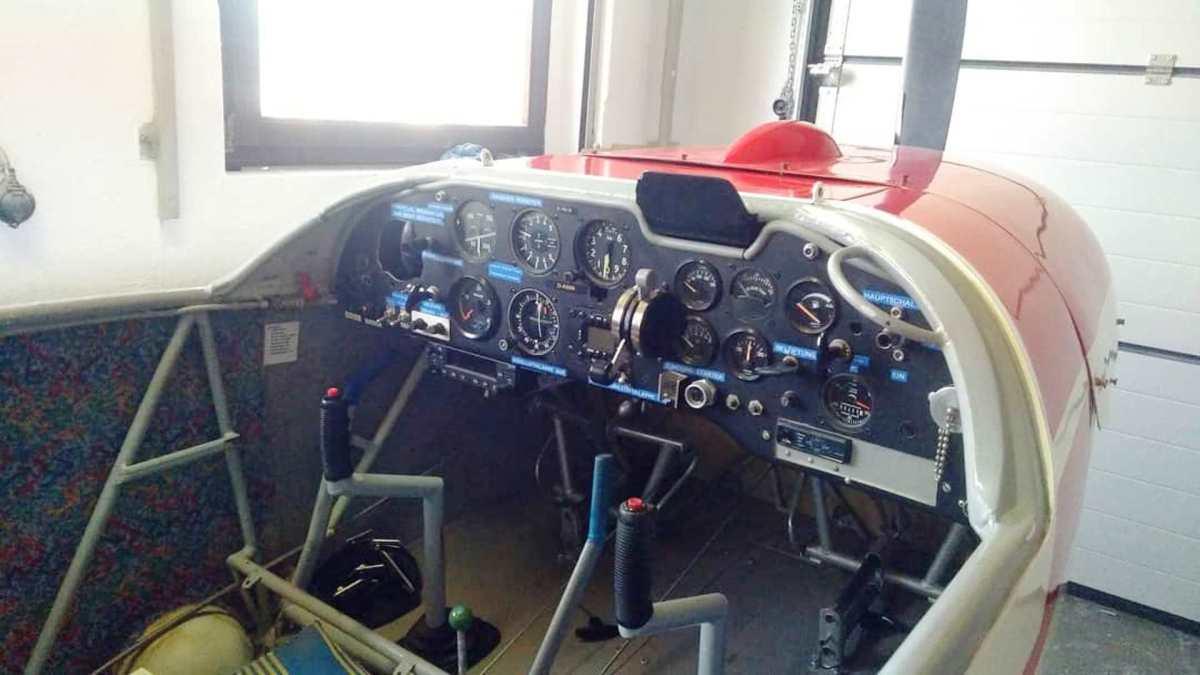 Motorsegler Cockpit