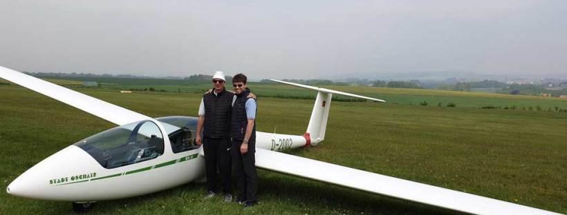 Segelkunstflug-Delegation