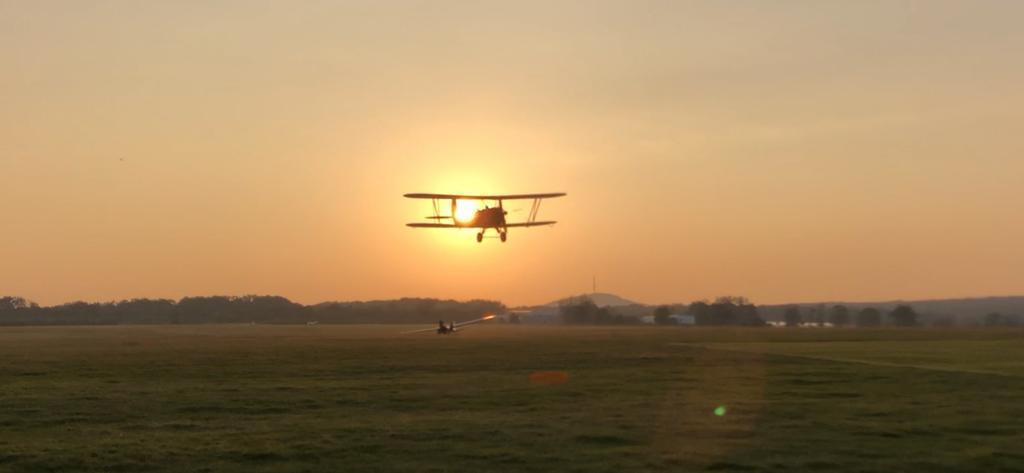 Flugzeuge in der Luft