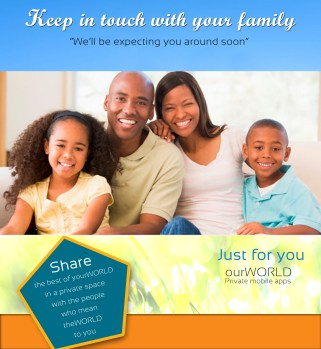 keep in touch with your family - expexting you