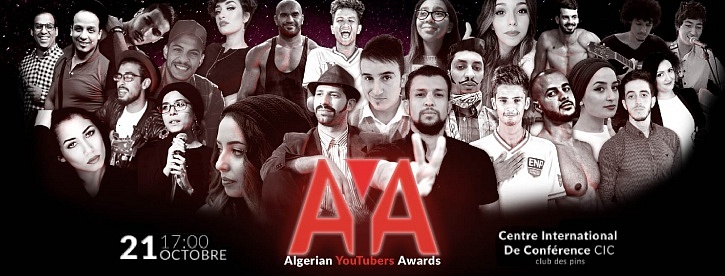 Algerian YouTubers Awards -SMS