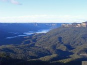 View over the Blue Mountains