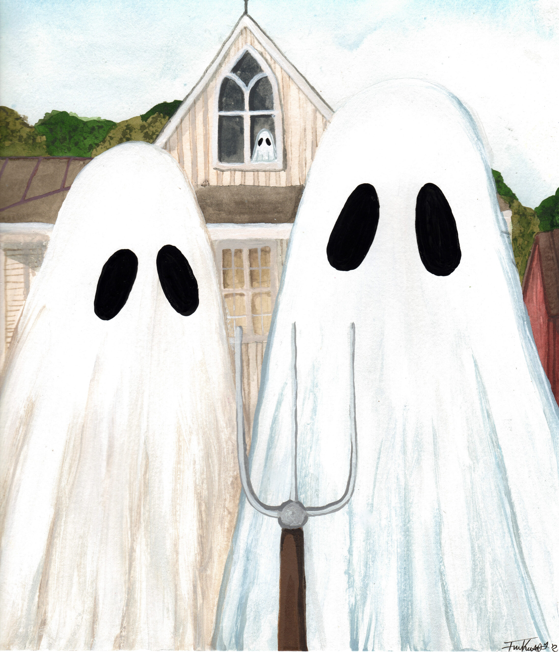 AMERICAN GOTHIC GHOSTS