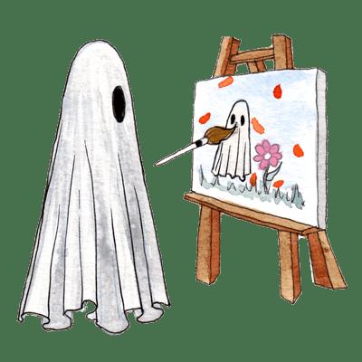 Ghost Artwork (Paintings & Prints)