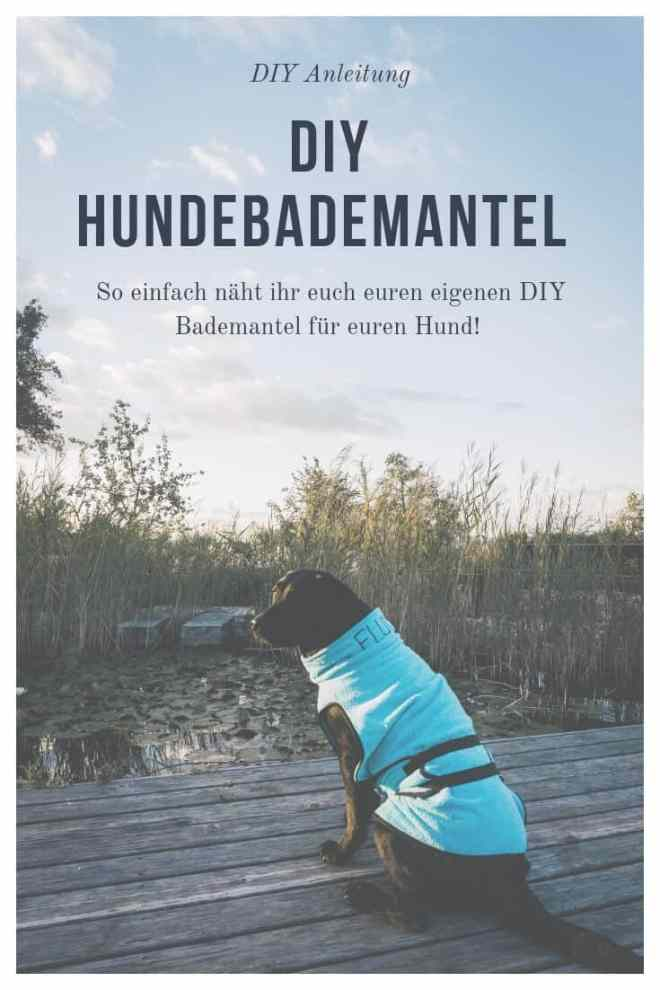 diy-hundebademantel