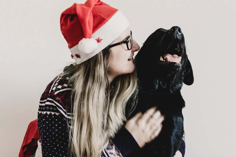 weihnachten-mit-hund-flummi