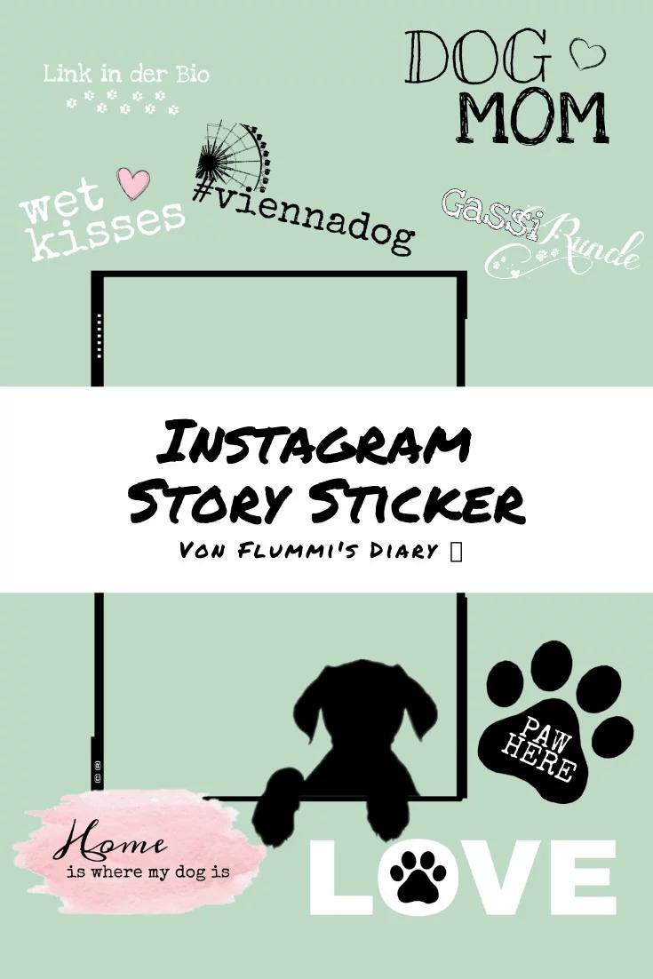 instagram-hunde-story-sticker-gratis
