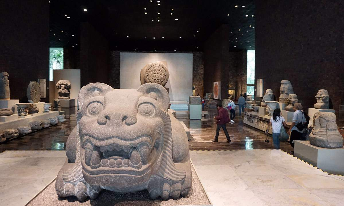 Image result for National Museum of Anthropology - Mexico City, Mexico