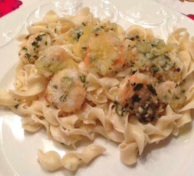 The Best Mozzarella Crusted Shrimp Recipe!
