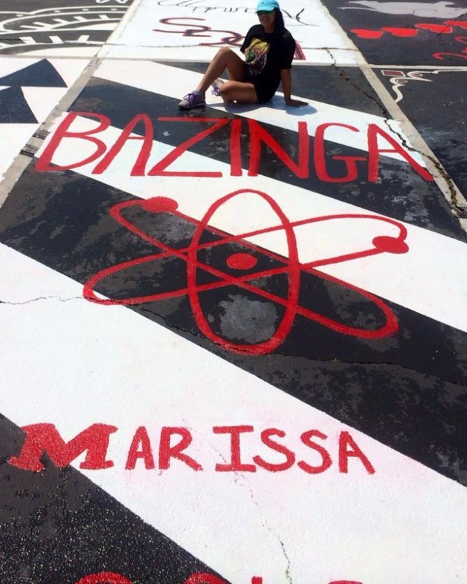 Best DYI Ever! Personalized Senior Parking Spots!