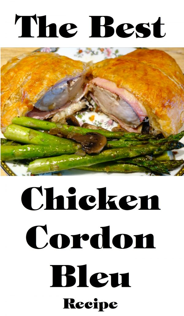 The Absolute Best Chicken Cordon Bleu Ever!