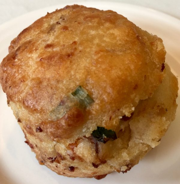 The Best Biscuits Are Filled With Cheddar Cheese, Chives and Bacon!