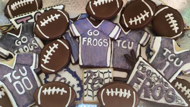 The Best Sugar Cookie Recipe(Young and Old Football Fans Love Them!)