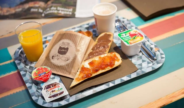 Hotel Ozz Breakfast - Postcards From The French Riviera