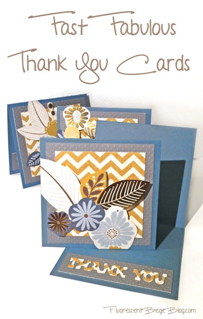 Fast Fabulous Thank You Cards