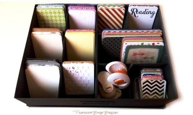 Tjena Journaling Card Storage
