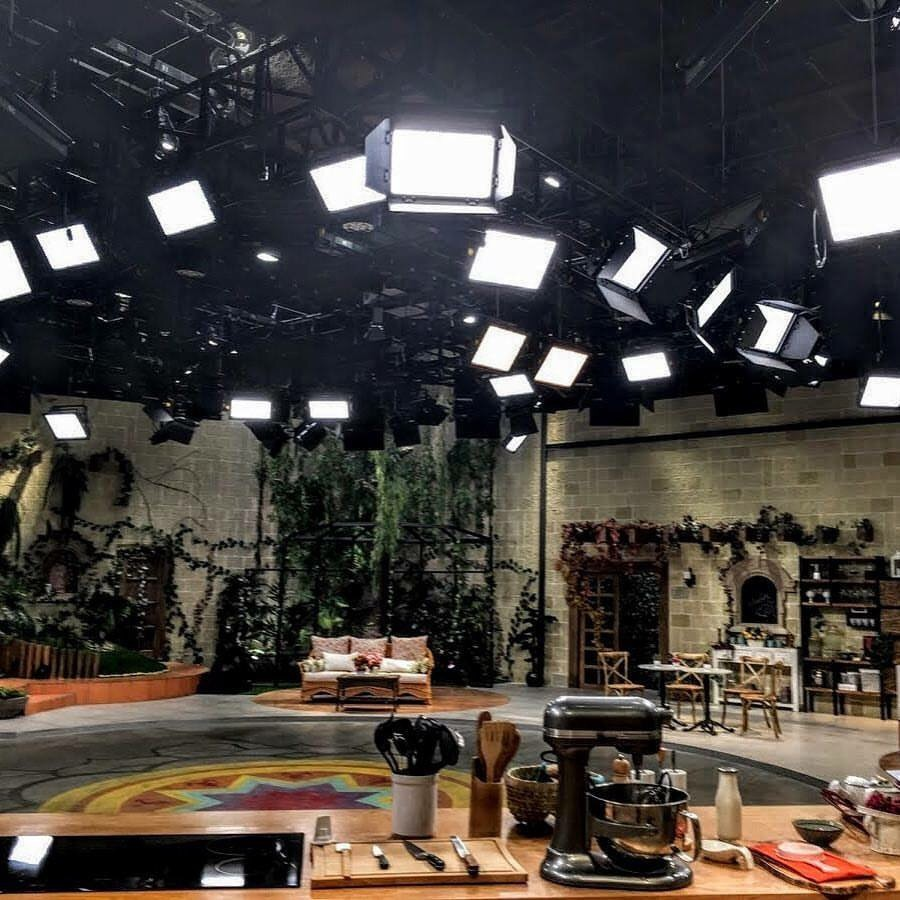 the most modern television studio in