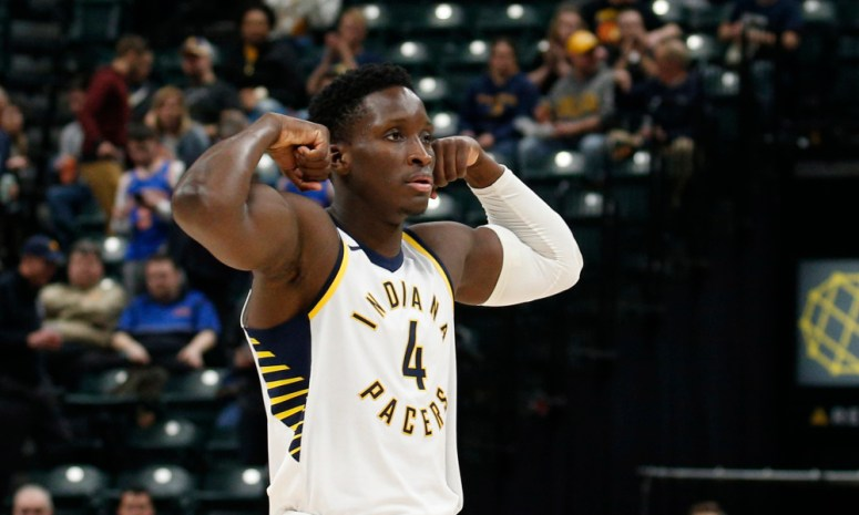 Image result for oladipo and tyreke evans