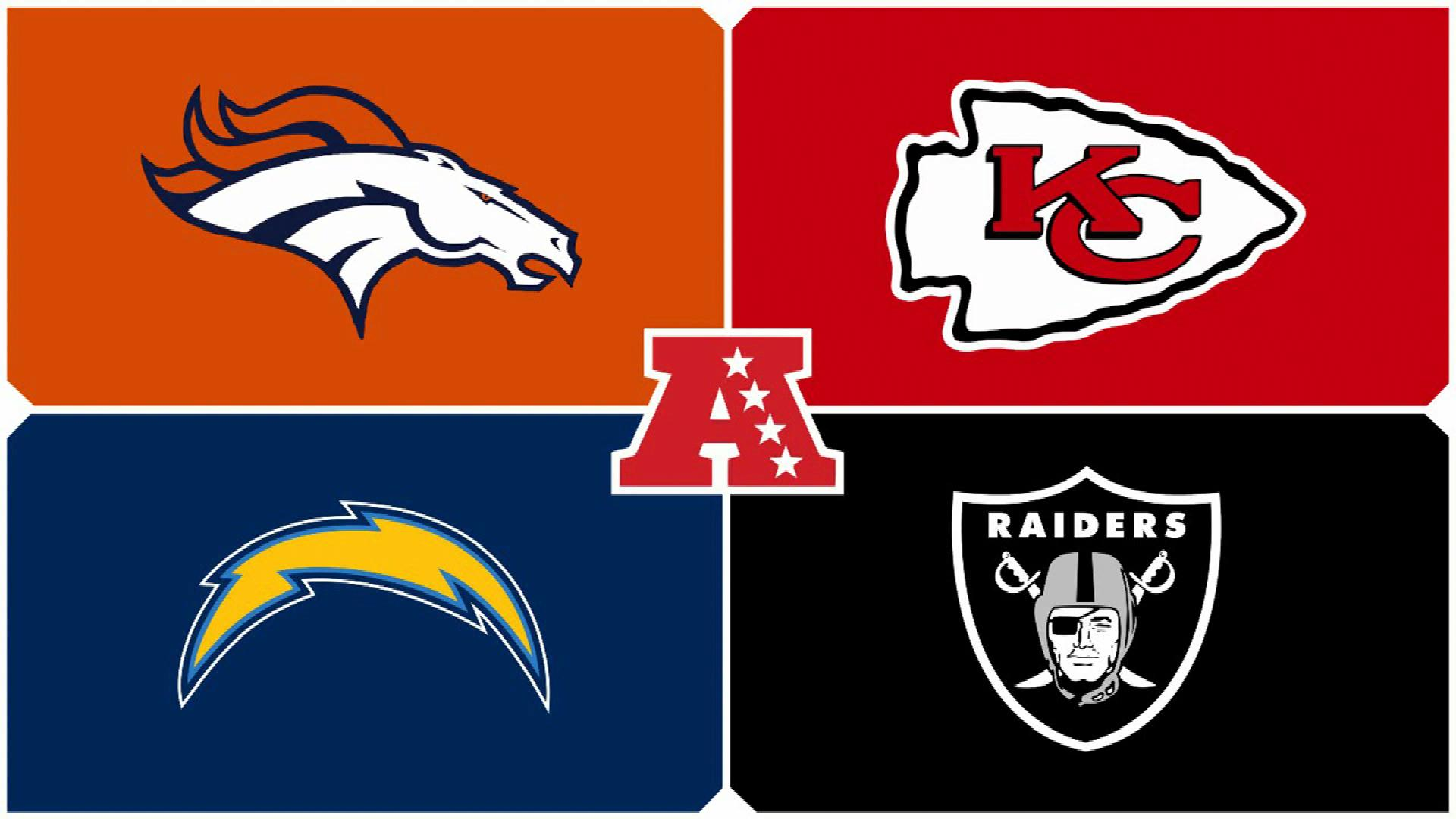 Image result for afc west picture