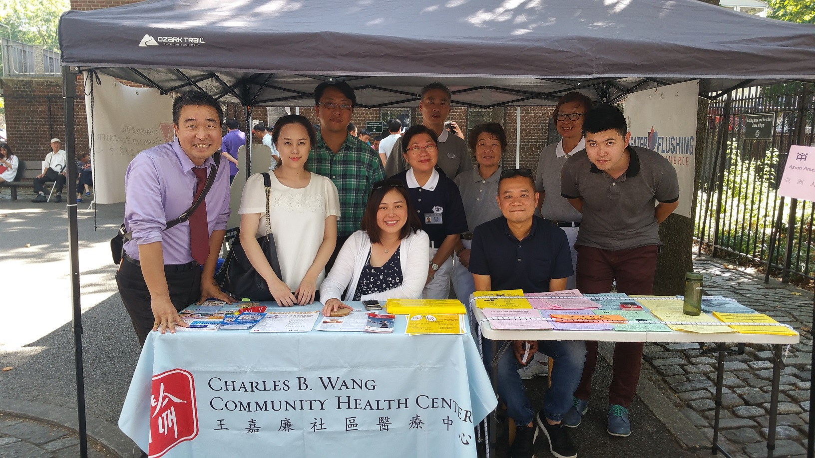 Charles B  Wang Community Health Center at Maple Greenmarket