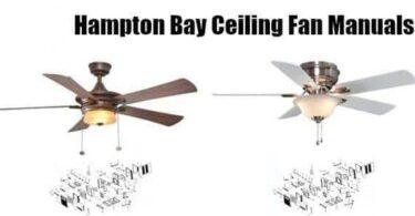 hampton bay ceiling fans parts light