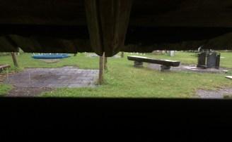 Noch regnet es.