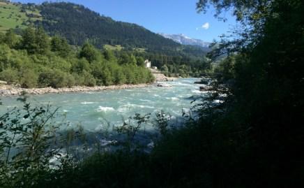 Und endlich ist der Rhein so, dass wir in ihm Baden können.