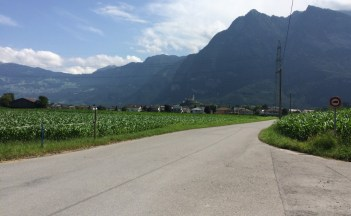Nach der Wildnis sind wir plötzlich in Liechtenstein.