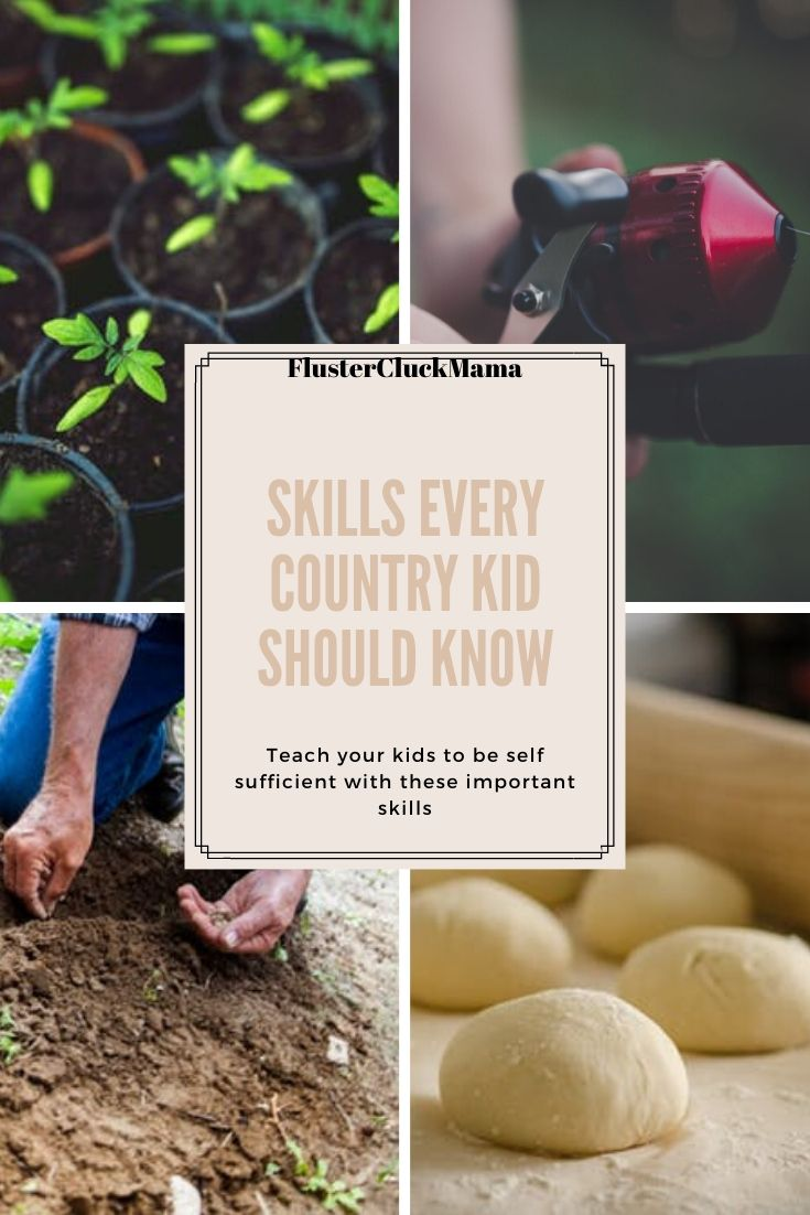 Skills Every Country Kid Should Know