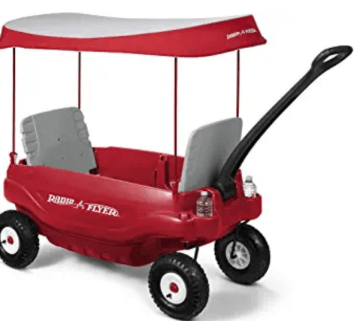 Radio Flyer Deluxe All Terrain- Wagon to homestead with a baby