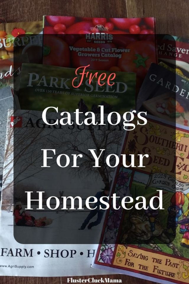 Free Catalogs For Your Homestead