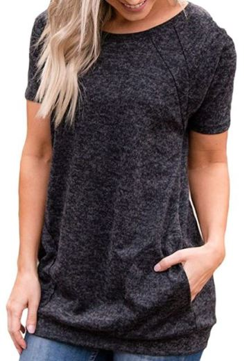 Short Sleeve Tunic Sweater