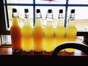 Bottled Dandelion Wine
