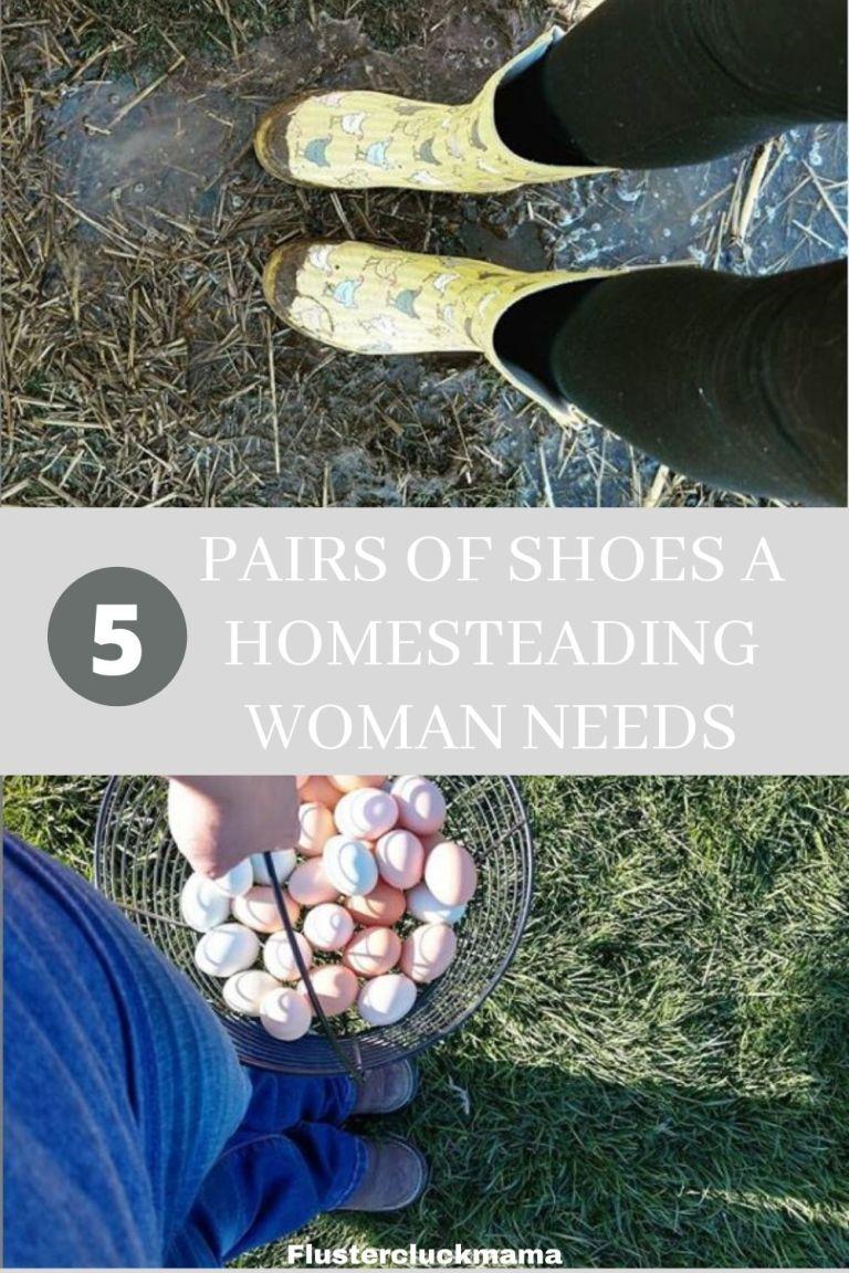 Homesteading Women Shoes