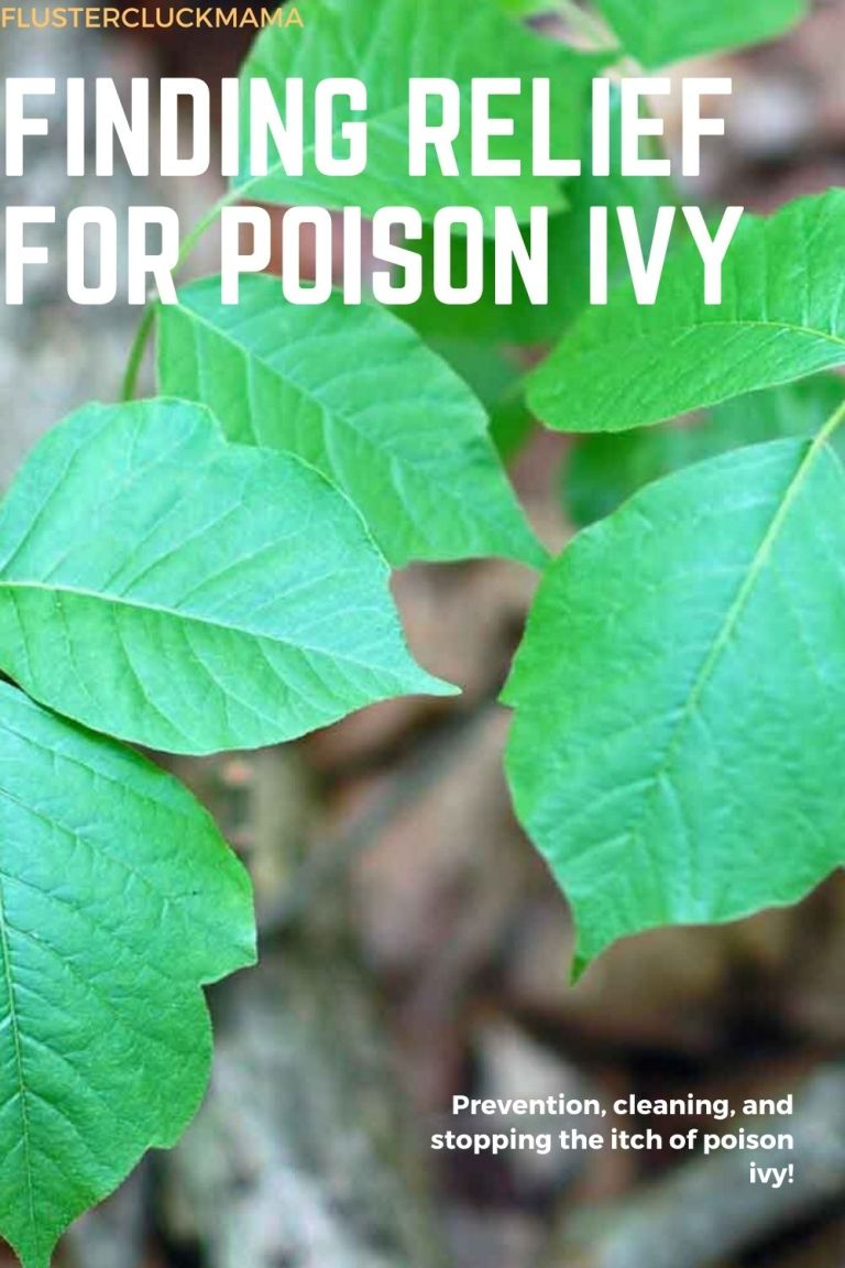 Relief For Poison Ivy